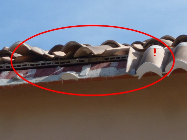 Typical roof problems in Spain